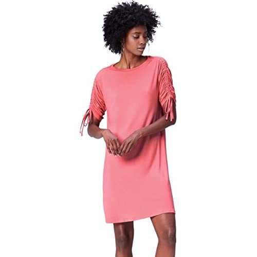 3ab28f51bd1b52 lovely FIND Oversize Kleid Damen Rosa otAbCjfi - www ...