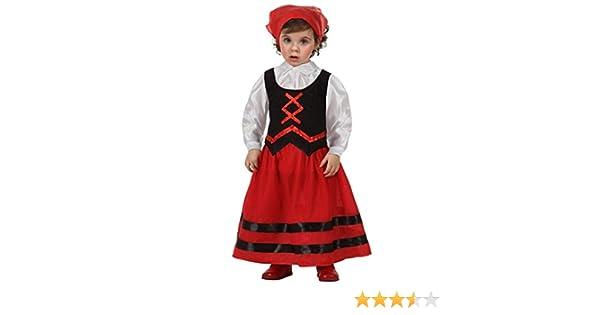 Atosa - Pastora roja niña 7-9 años: Amazon.es: Juguetes y juegos