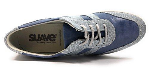 Oui Femme 7517ic Baskets Semelle Mode Suave Bleu Amovible 1wYAtxxd
