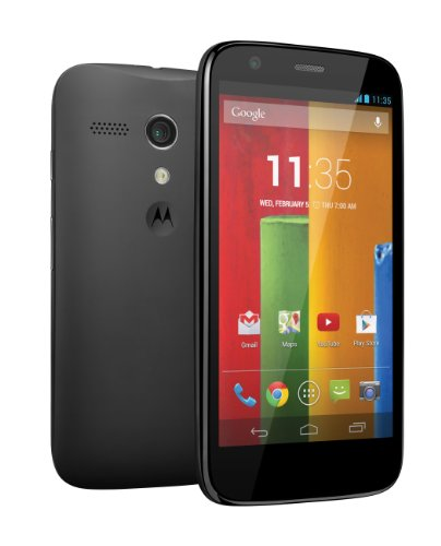 Motorola Moto G (1st Generation) - Black - 16GB - Global GSM Unlocked Phone