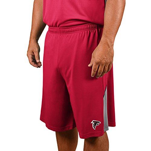 (Profile Big & Tall NFL Atlanta Falcons Adult Men NFL Plus Synthetic Shorts,5X,Cardinal/Red)