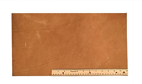 Light Brown Leather Finish (Scrap Lace Leather Light Brown Cowhide 10