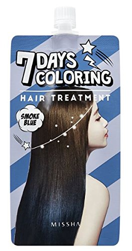 Seven Days Coloring Hair Treatment (Smoke Blue) (5 pack) Able C&C
