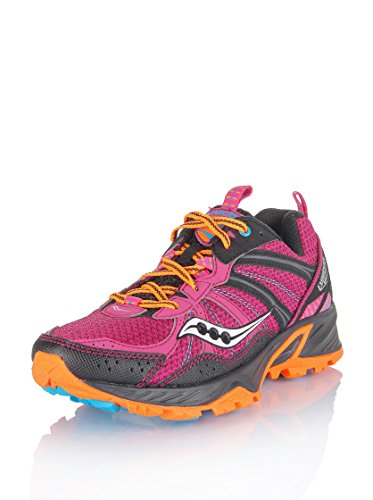 Saucony Sportschuh Running Excursion TR 8 Pink/Schwarz/Orange EU 38