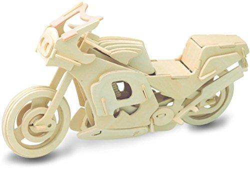 Amazon.com: Motocicleta de carreras: Woodcraft Construcción ...