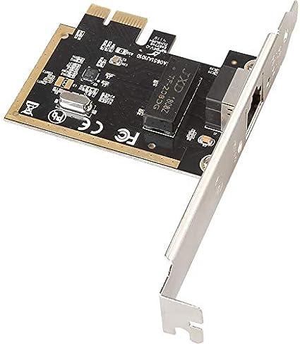MEO 10//100//1000Mbps Gigabit NIC Realtek8111H PCI-E Desktop 1Gigabit Ethernet Network Card Adapters Black