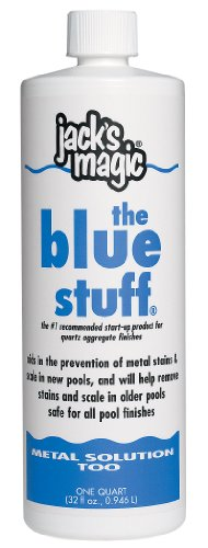 Jack's Magic The Blue Stuff Pool Metal Remover - 2 x 1 Quarts by Jack's Magic