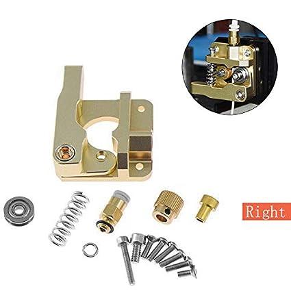 Impresora 3D Kit extrusora Impresora de aluminio Pieza 3D ...