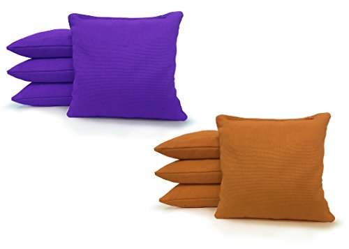 Standard Green Bean Bag (8 Standard Corn Filled Regulation Duck Cloth Cornhole Bags! 17 COLORS (YOU PICK)!!)