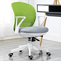 Ergonomic Swivel Executive Task Chair Children Desk Chair Kids Student Study Office Chair Adjustable Chair For Kids Teens-B 46x64x89cm(18x25x35)