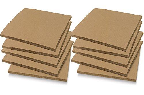 "Soft Cut Linoleum Set -10 Pack Printmaking Carving sheet Block Printing sheets Art Studio / Class Pack Easy to Carve Wonder Plate (4"" x 6"")"