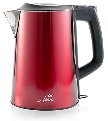 red hot water kettle - 1