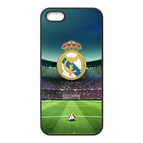 Real Madrid Phone Case And One Free Tempered-Glass Screen Protector For iPhone 5,5S T278070
