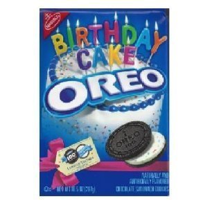 (Oreo 100th Birthday Cake Sandwich Cookies)