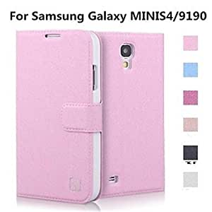 GX Teléfono Móvil Samsung - Carcasas de Cuerpo Completo/Fundas con Soporte - Color Sólido - para Samsung S4 Mini I9190 ( , Rose