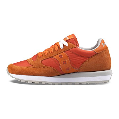 Saucony Daim Original Baskets Orange en Femme Beige Sneakers Jazz Chaussures X7rvq04X