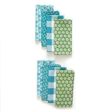 The Pioneer Woman Flea Market Napkin Set, 8pk, Teal