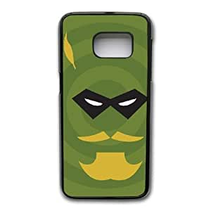 Wunatin Hard Case ,Samsung Galaxy S7 Edge Cell Phone Case Black Superheroes-Green arrow logo [with Free Touch Stylus Pen] BA-0758341