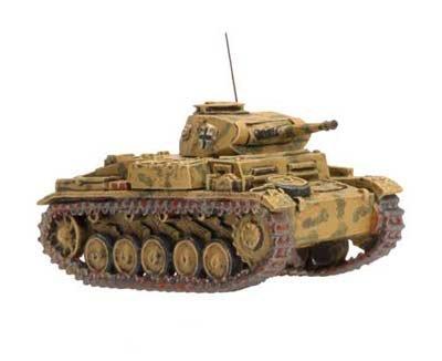 War German Panzer (Flames Of War German Panzer Ii F (x1))