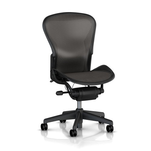 Aeron Kit Lumbar (Herman Miller Classic Aeron Task Chair: Standard Tilt - Armless - Standard Carpet Casters)