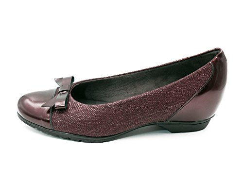 PITILLOS Women's Shoes Burgundy 8YNImy1IP