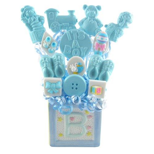 (It's A Boy Lollipop Bouquet)