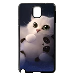 ALICASE Diy Case Lovely Cat For samsung galaxy note 3 N9000 [Pattern-1]