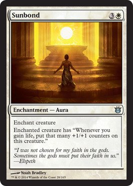 Magic: the Gathering - Sunbond (28/165) - Born of the Gods