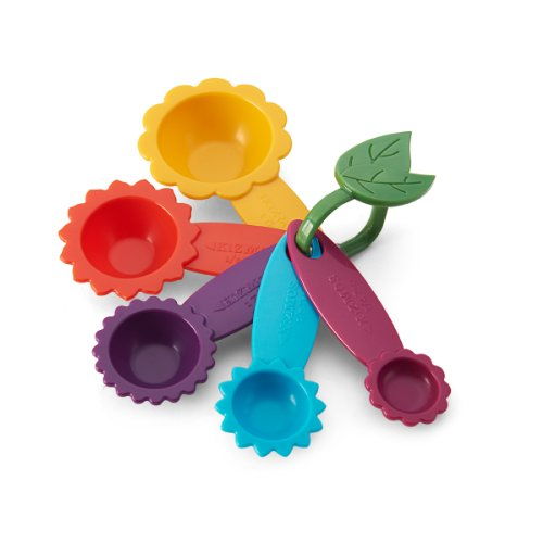 Kizmos Flower Tools Plastic Measuring Spoons