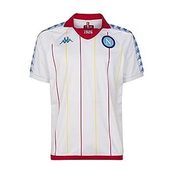 S.S.C. Napoli Retro Camiseta, Hombre: Amazon.es: Ropa y accesorios