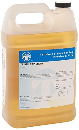TRIM Cutting & Grinding Fluids TAPLT/1 TAP LIGHT Tapping Fluid, 1 gal Jug from TRIM