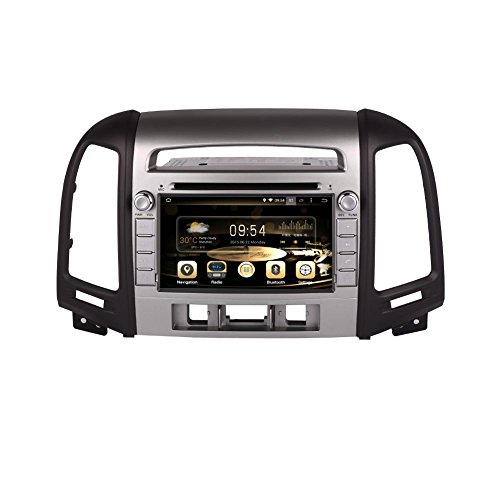 Effort GPS Navigation Android 8.0 Car Stereo CD DVD Player In Dash Radio with 7