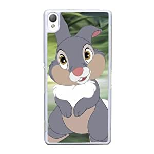 Sony Xperia Z3 Cell Phone Case White Bambi AS7YD3595661