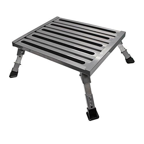 Aluminum Assist Steps - Quick Products QP-FASAL Adjustable Aluminum Platform Step