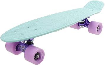 SULOV PB-PASTEL-02 Penny Board Mixte Jeunesse Pastel Color-Bleu//Rose Taille Unique