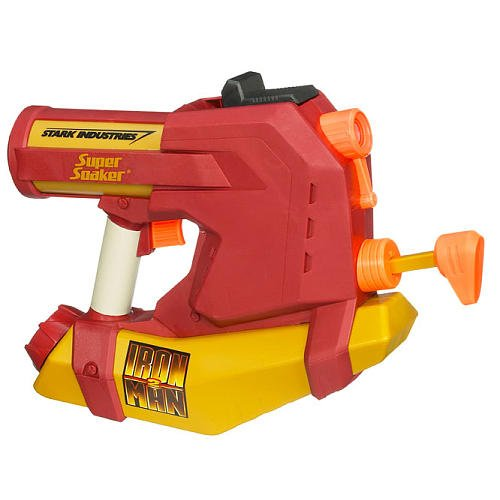 Supersoaker Iron Man 2 Water Blaster
