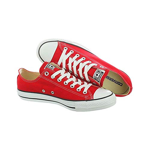 Top M9696 Chuck D All Star Taylor 4 Us Converse Low Red m pqXgwgA