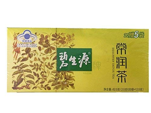 Besunyen Slimming(碧生源 常润茶2.5g25袋)Health tea relaxing bowel Herbal essence润肠改善便秘