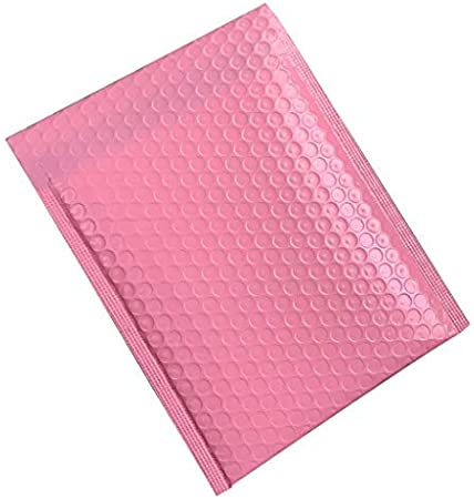 10PC,11x15+4cm Waterproof /& Tear-proof Bubble Wrap Envelopes with a Self-adhesive Tamperproof Seal Padded Envelopes Shipping Bags for Shipping//Packaging//Mailing Black//Pink Poly Bubble Mailers