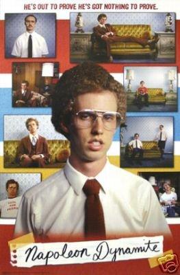 Napoleon Dynamite Poster - Movie Collage - New 24x36
