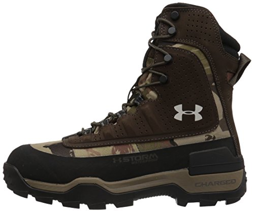 Under Armour Women's Brow Tine 2.0 400G Ankle Boot, Ridge Reaper Camo Ba (901)/Maverick Brown, 6 by Under Armour (Image #5)