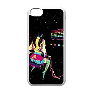 iPhone 5c Cell Phone Case White Atari Colors GY9218192