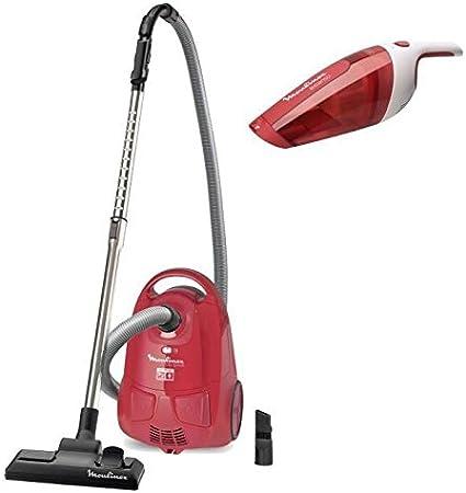 Pack Moulinex aspirador con bolsa City Space mo242: Amazon.es: Hogar