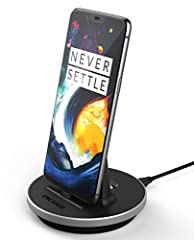 OnePlus 6 Slim Case Compatible Charging Dock Charge your phone in style. Our new and improved charging dock is now compatible with nearly ALL cases on the market.  Using an adjustable port, the height can modified to perfectly suit your needs...