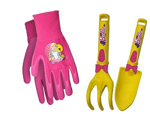 Price comparison product image MidWest Quality Gloves BAP1604-EA-AZ-1 Mattel Barbie Kids Garden Combo Pack,  Toddler,  Multicolor