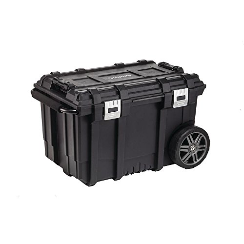 Husky 26 in. Connect Mobile Tool Box Black With Freebies (Black)