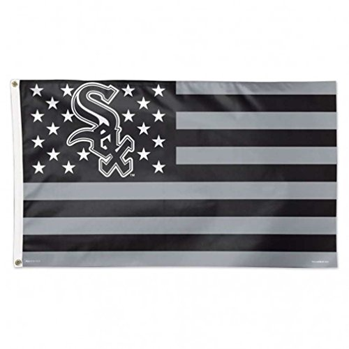 Wincraft MLB Chicago White Sox 02748115 Deluxe Flag, 3