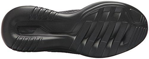 Womens Skechers Vanno Eseguiti Mojo-pep Sneaker Nero