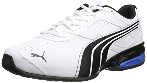Puma - - Tazon Hombres 5 Zapatos White / Black / Strong Blue