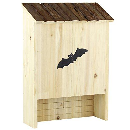 Gardirect Natural Double Chamber Bat House